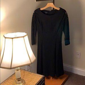 Classic Talbots black dress